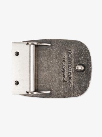 Hero's buckle color old silver
