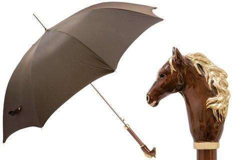 Зонт-трость Pasotti Brown Horse, Италия