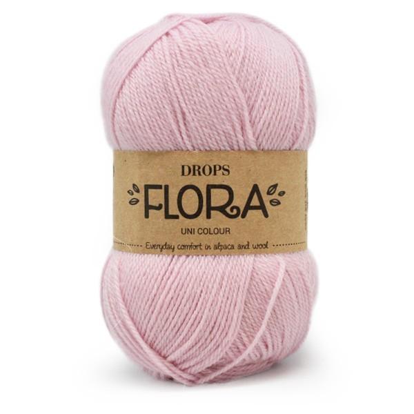 Пряжа Drops Flora 21 светло-розовый