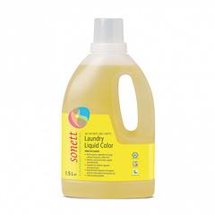 """Жидкость для стирки цветных тканей """"Мята и лимон"""" Sonett, 1,5л"""
