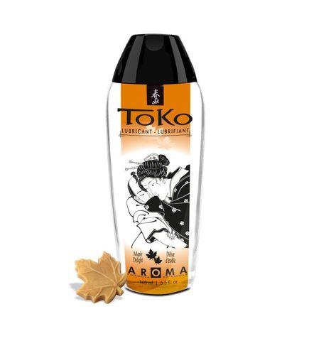 Интимный гель Shunga TOKO Maple Delight с ароматом кленового сиропа - 165 мл.