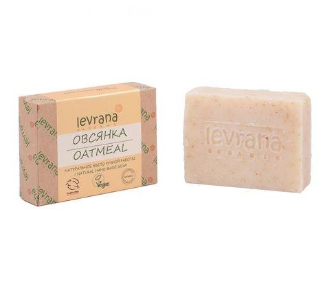 Levrana натуральное мыло, овсянка 100г