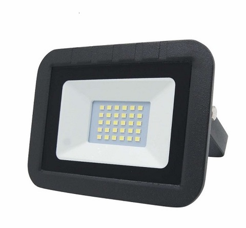 Прожектор светодиодный LEEK LE FL SMD LED7 30W CW BLACK