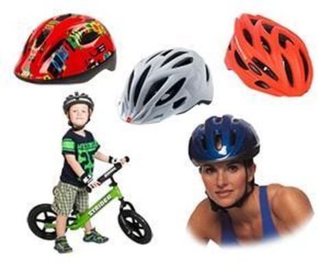 Купити шоломи для велосипедистів і ролерів