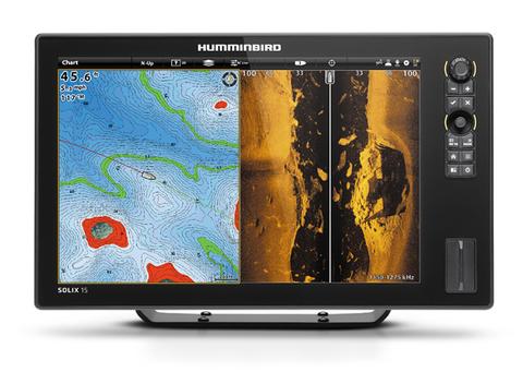 Эхолот Humminbird SOLIX 15 CHIRP MEGA SI GPS