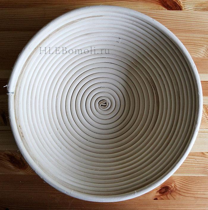 Корзинка для расстойки теста из ротанга (22)