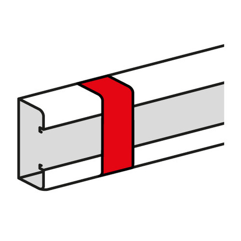 Кабель-канал 100x50 Накладка на стык профиля Накладка на стык профиля. Цвет Белый. Legrand Metra (Легранд Метра). 638036