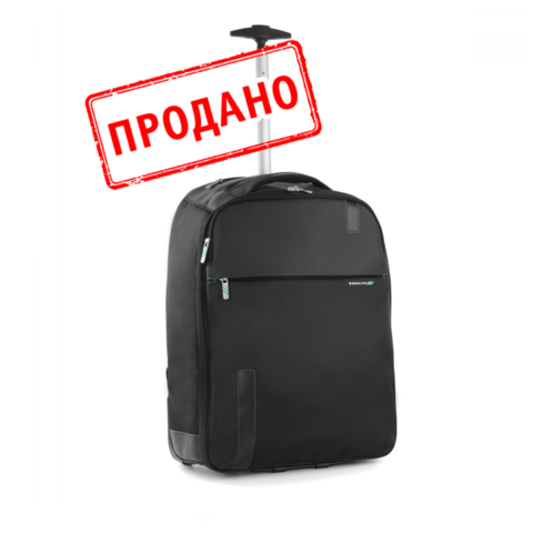 Рюкзак/чемодан Roncato Speed MEDIUM CABIN BACKPACK Black