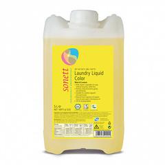 """Жидкость для стирки цветных тканей """"Мята и лимон"""" Sonett, 5 л"""