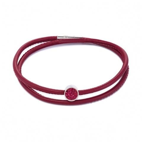 Браслет Coeur de Lion 0118/31-0328 цвет красный