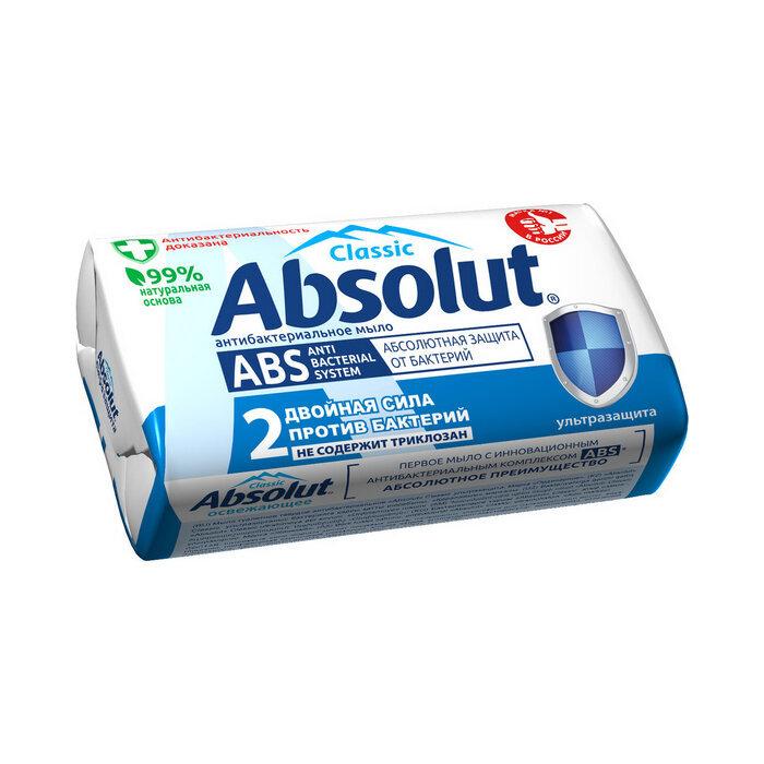 Товары первой необходимости Мыло туалетное антибактериальное Absolut Classic ультразащита, 90 г 3947.970__1_.jpg