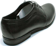 Дерби туфли кожаные мужские Ikoc 060-1 ClassicBlack.