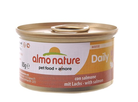 Консервы (банка) Almo Nature Daily Menu mousse with Salmon
