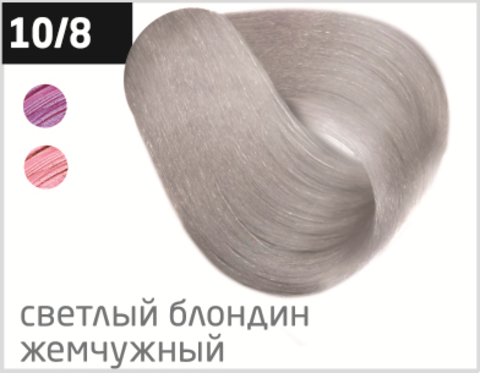 OLLIN color 10/8 светлый блондин жемчужный 100мл перманентная крем-краска для волос