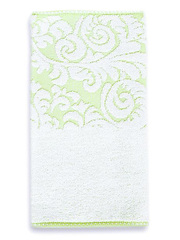 141 полотенце Элизе, зеленое