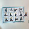 Навыки социальной адаптации. Развивающие пособие на липучках Frenchoponcho (Френчопончо)