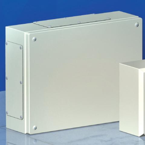 Сварной металлический корпус CDE, 400 x 400 x 120 мм, IP66