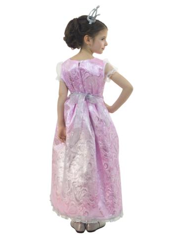 Костюм Принцесса Люкс розовая 3