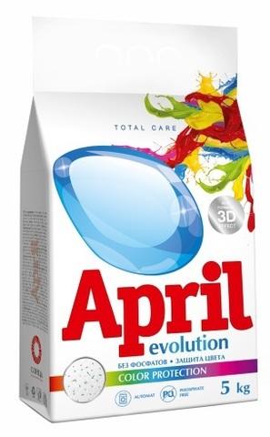 Сонца April Стиральный порошок Evolution color protection Автомат 5кг