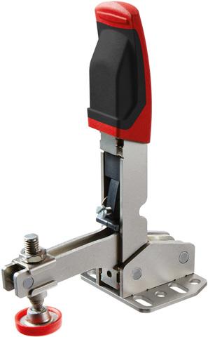 Вертикальный зажим с открытым плечом и горизонтальным основанием STC-VH50