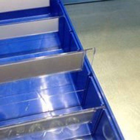 Контейнер полочный-поперечный разделитель (для  контейнера 155х90)