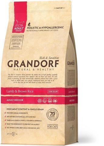 Grandorf Lamb & Brown Rice Adult Indoor