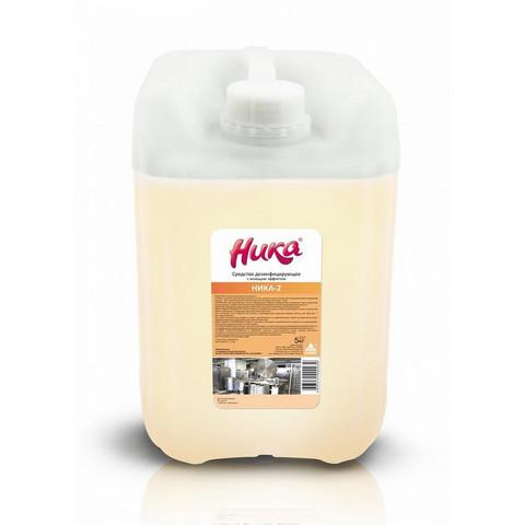 Дезинфицирующее средство с моющим эффектом Ника-2 5 кг (концентрат)