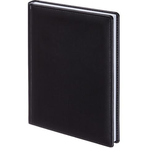 Ежедневник недатированный Attache Вива искусственная кожа А5 176 листов черный (148x218 мм)