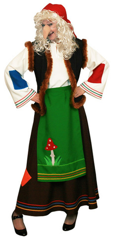 костюм баба яга