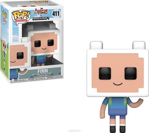 Finn Minecraft / Adventure Time Funko Pop! Vinyl Figure || Финн (Майнкрафт)