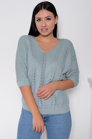 <p>Пуловер с люрексом- актуальная модель осень 2020.Идеальный женственный вариант на каждый день!&nbsp;</p> <p>&nbsp;</p> <p>(Один размер: 42-48)</p>