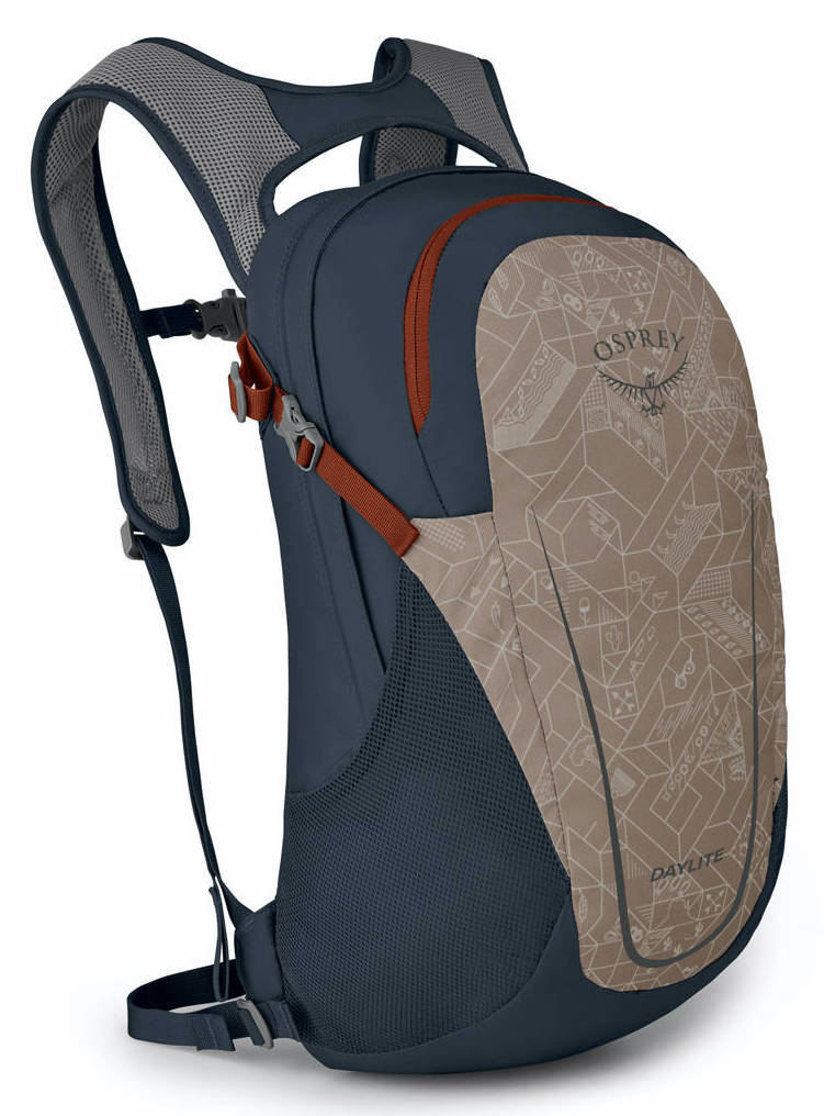 Городские рюкзаки Рюкзак Osprey Daylite 13 Camping Print Chestnut Tan Daylite_F20_side_campingprintchestnuttan_web.jpg