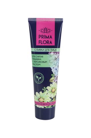 Modum Prima Flora Сливки для снятия макияжа с персиковым маслом 100г