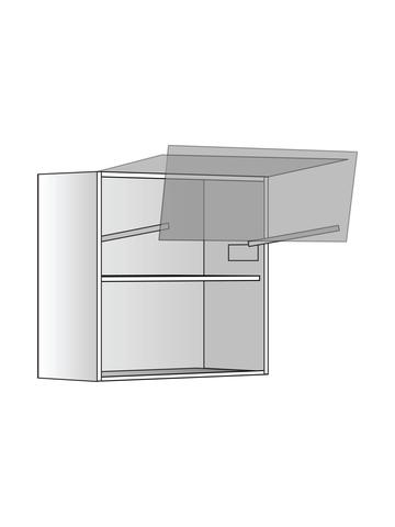Верхний шкаф c полкой и подъемником, 600х600 мм
