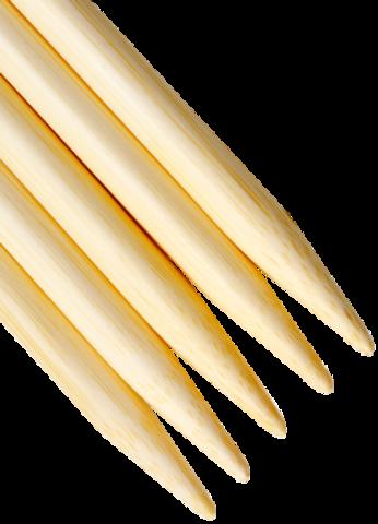 ChiaoGoo Спицы чулочные 13 см бамбук светлые