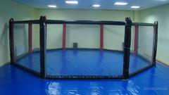 Восьмиугольный ринг, диаметр 5м без помоста.