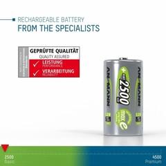 Аккумуляторы NiMH Max-E, C (1.2V, 2500mAh)