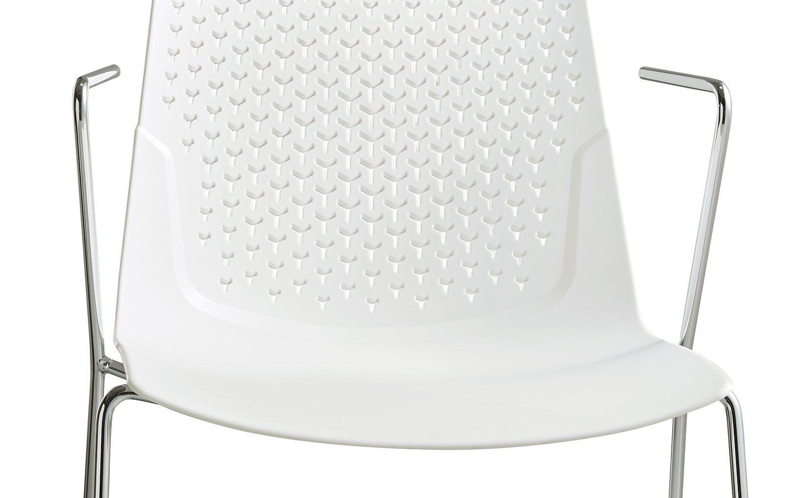 Стул FX-05F WHITE (белый)