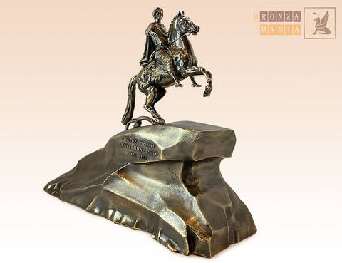 статуэтка Медный всадник - памятник Петру I