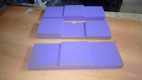 Акустический поролон ECHOTON Puzzle фиолетовый