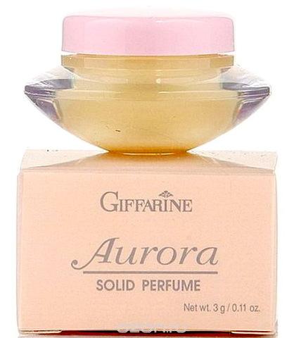 Твердые сухие духи с природными феромонами Aurora от бренда Giffarine, 3 г