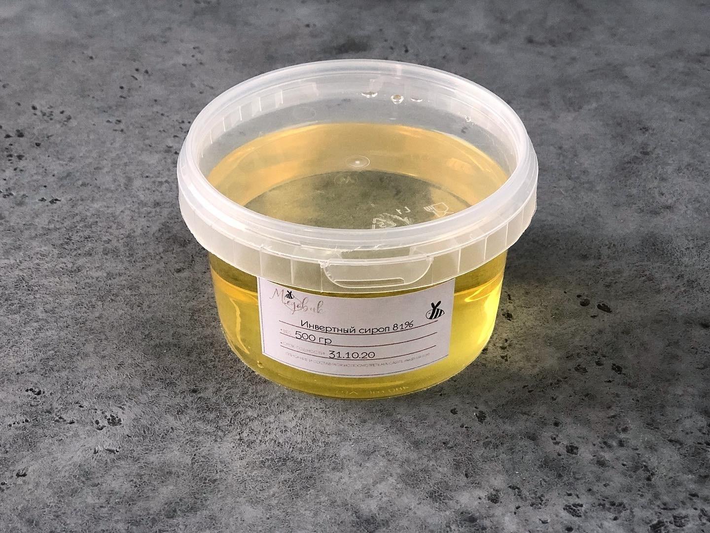 Инвертный сироп 81%, 0,5 кг