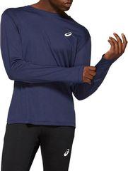 Рубашка Asics Silver LS Top Blue мужская