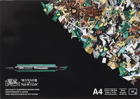 Альбом для маркеров W&N 75г/м2 A4 50листов