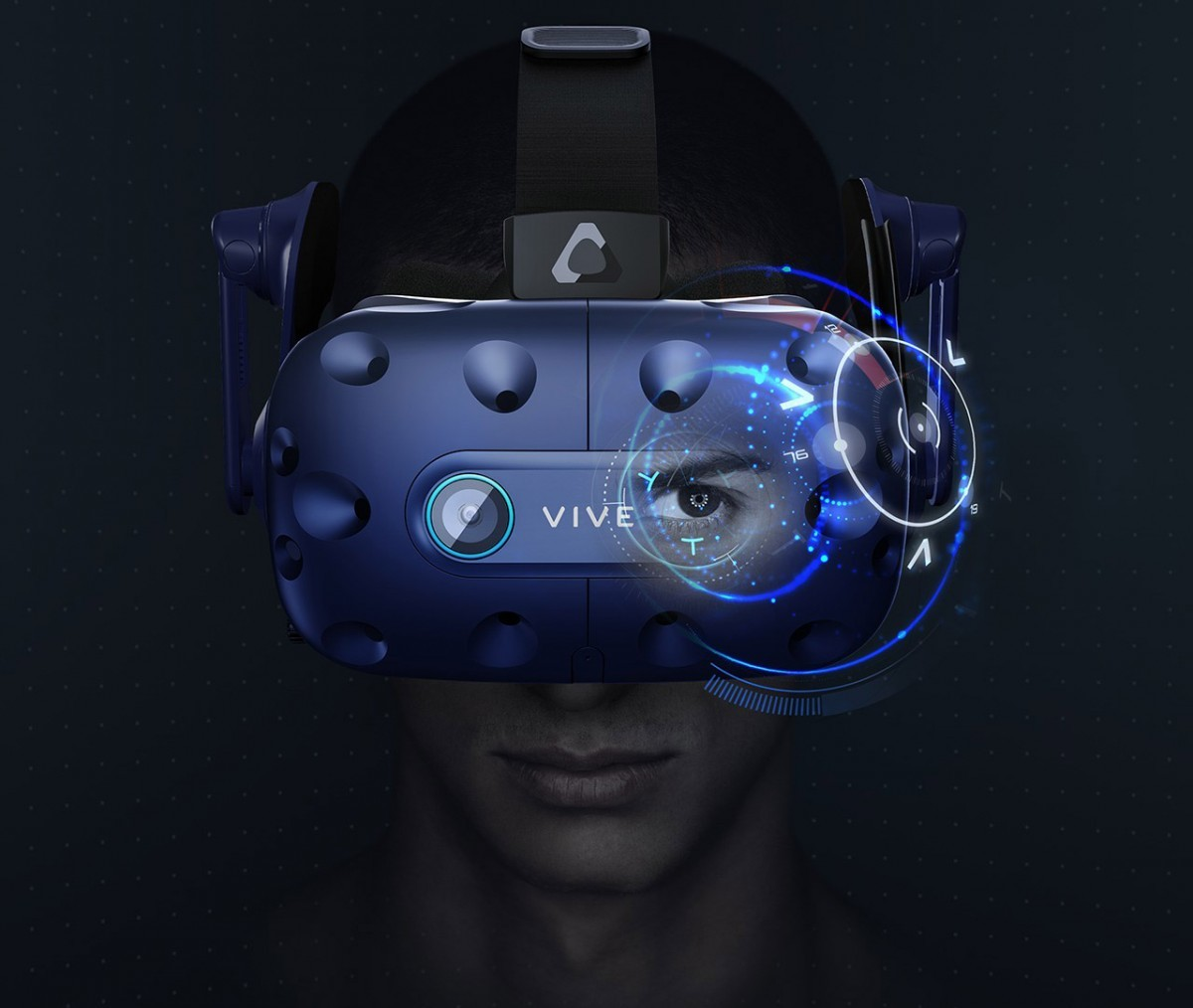 Шлем виртуальной реальности Vive Pro Eye