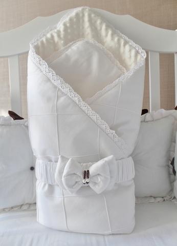 Одеяло-конверт на выписку Зефиринка