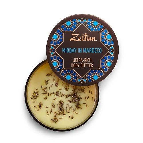 Крем-масло для тела для подтяжки кожи Zeitun Марокканский полдень 200мл