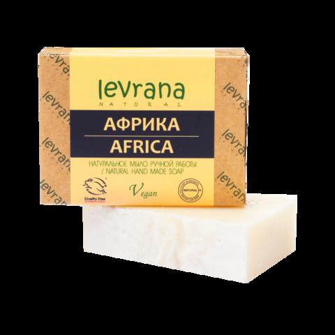 Levrana Натуральное мыло ручной работы Африка, 100гр