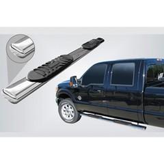 Боковые пороги (овал) Ford Ranger (2012+)