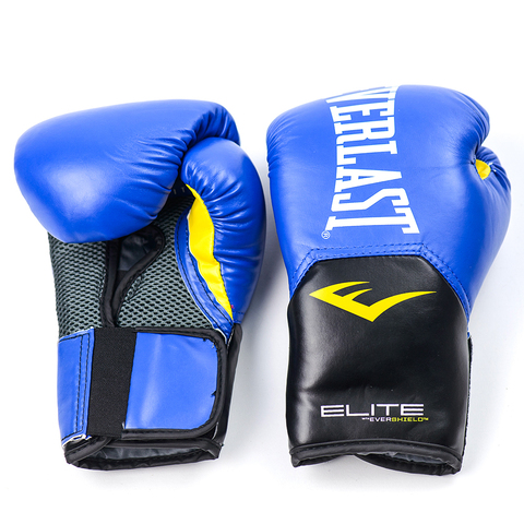 Перчатки боксерские Elite ProStyle, Everlast синие
